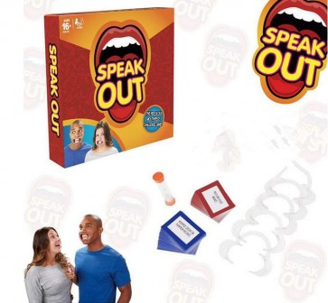 Newest Speak Out Mouthpiece Funny Game Family Party Happy Game Gift Toys
