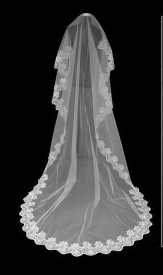 2018 new Flying wedding veil  Tools Long  3 M    muslin