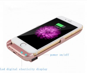 10000Mah Battery Case For iphone 6 Charger Case For iphone 6s plus Battery Cover Luxury Power Bank Battery Clip brand case