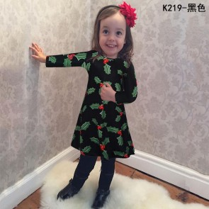 2016 Fashion Winter Christmas Child  Spring  skirt