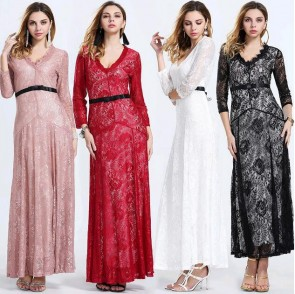 2016 New Net yarn  Lace  Long skirt  for women