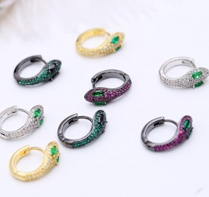 2018 New  Serpentine personality stud earrings for women jewelry