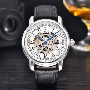 Mens Watches Stainless Steel Band Calendar Clock Men Automatic Mechanical Business Watch Luxury Quality Gif